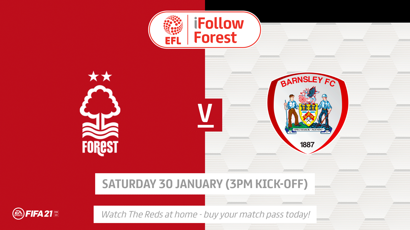 Watch Forest vs Barnsley live on iFollow!