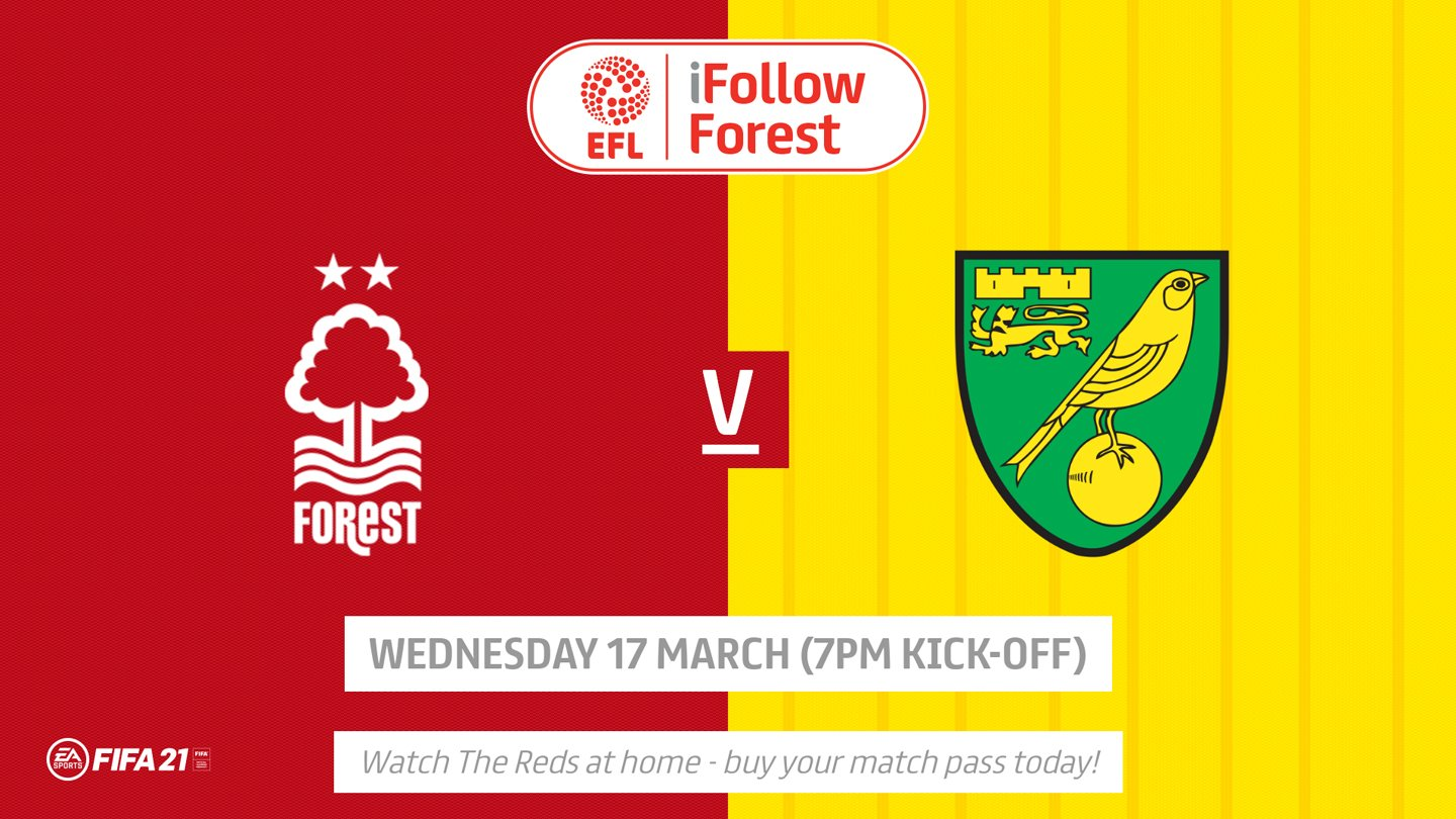 Watch Forest vs Norwich live on iFollow!
