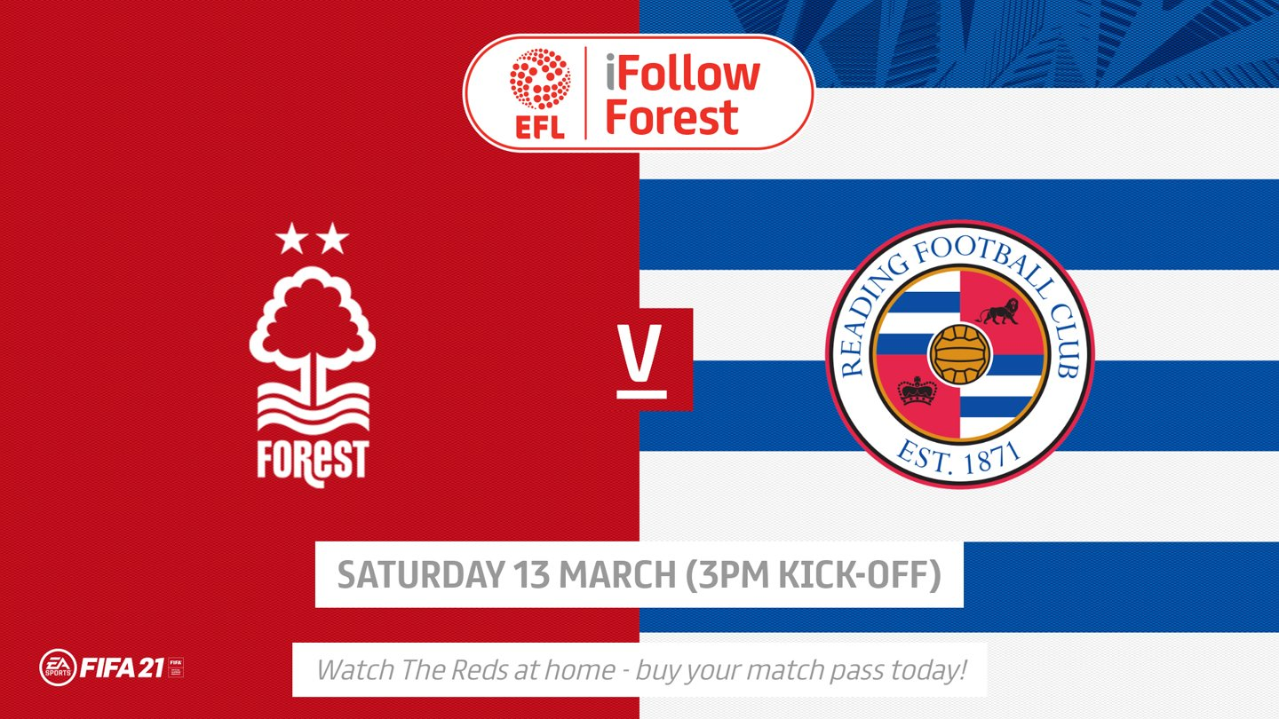 Watch Forest vs Reading live on iFollow!