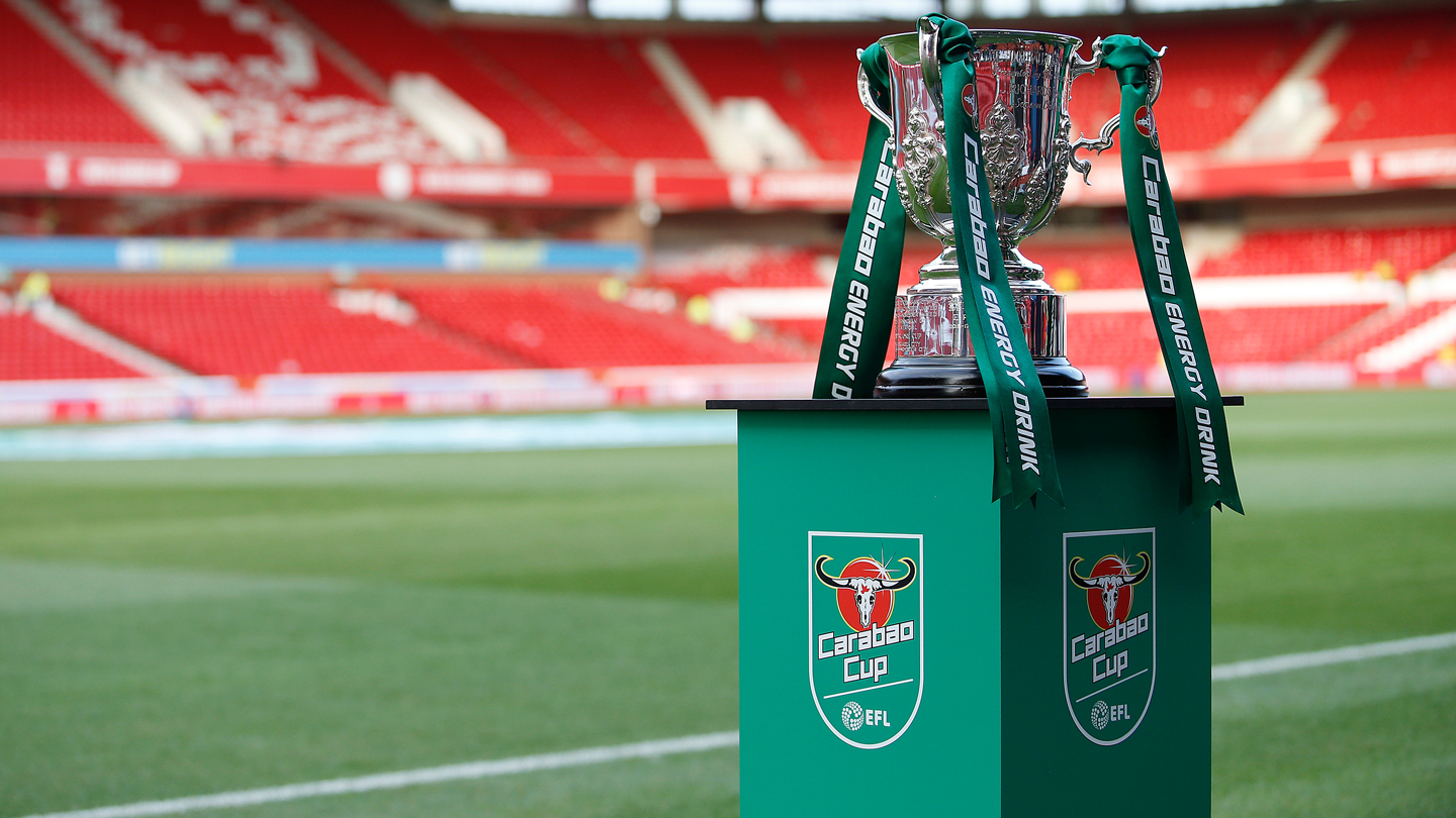 Carabao Cup first-round draw to take place at 10am on Tuesday