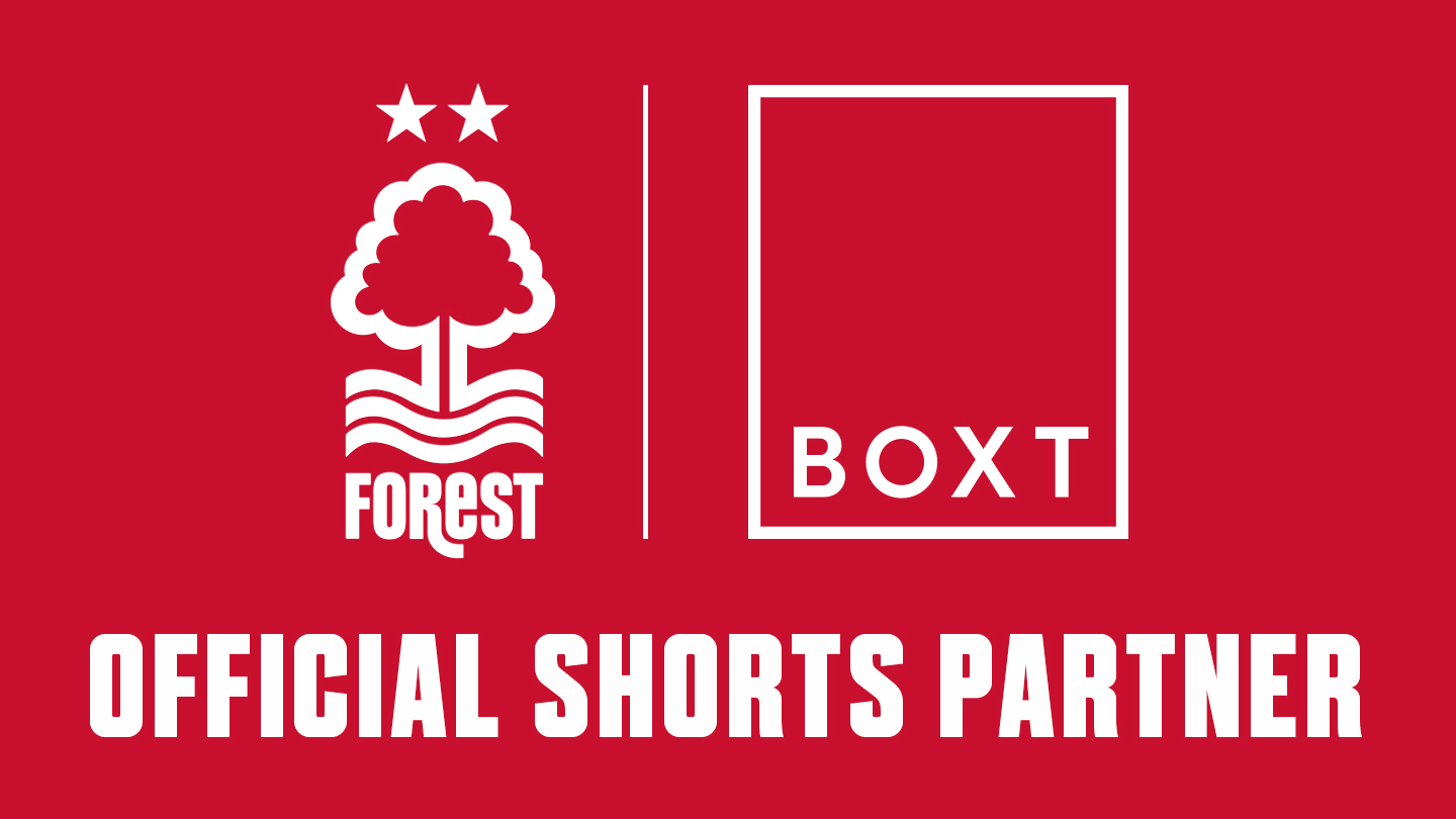 Forest welcome Boxt as official shorts partner