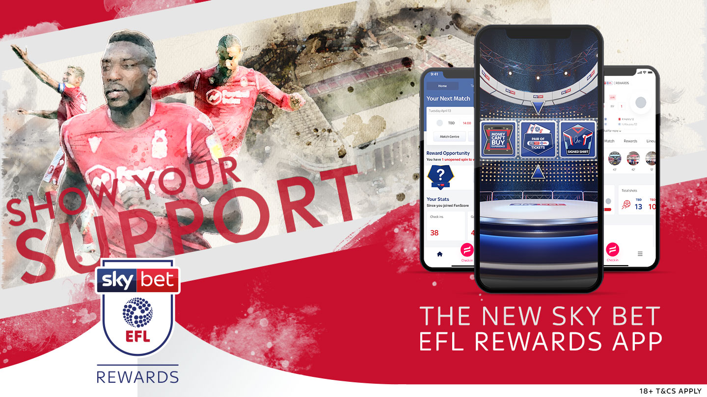 Don't miss out Sky Bet EFL Rewards