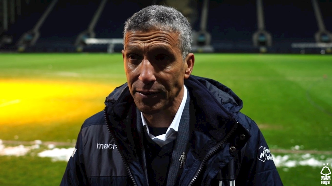 Hughton delighted with victory at Preston