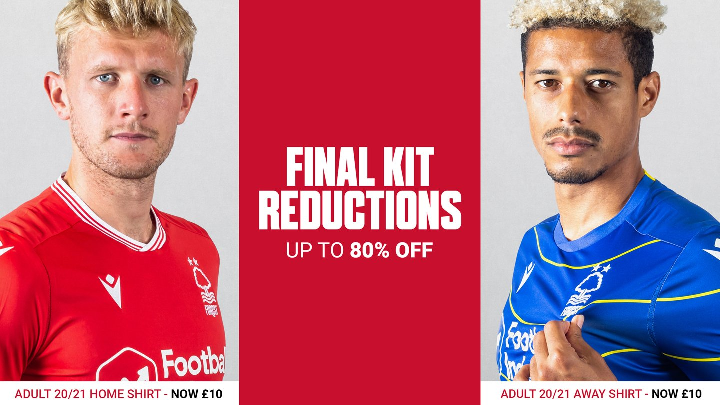 Replica shirts now available for only £10!