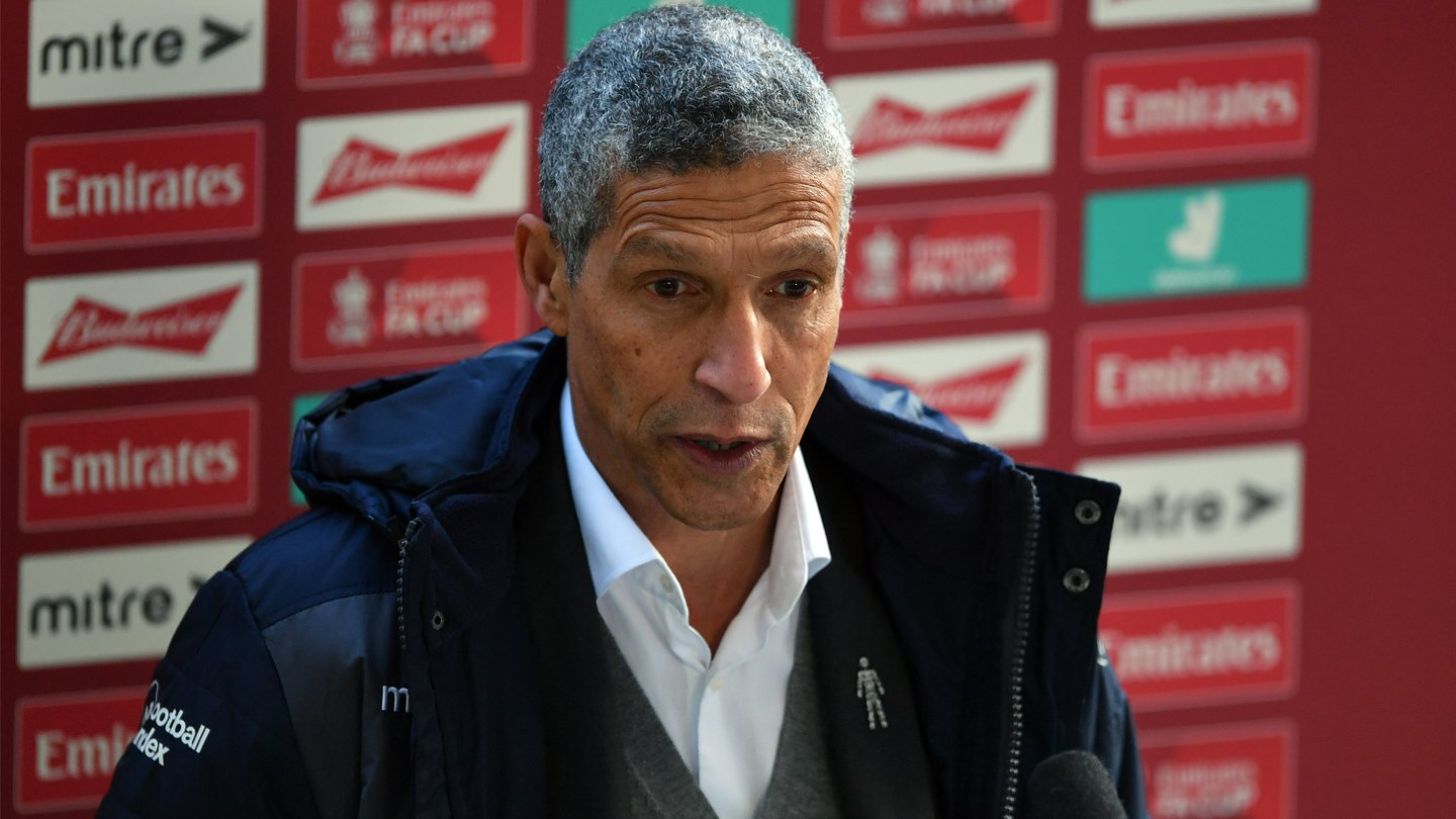 Hughton angered by cup exit