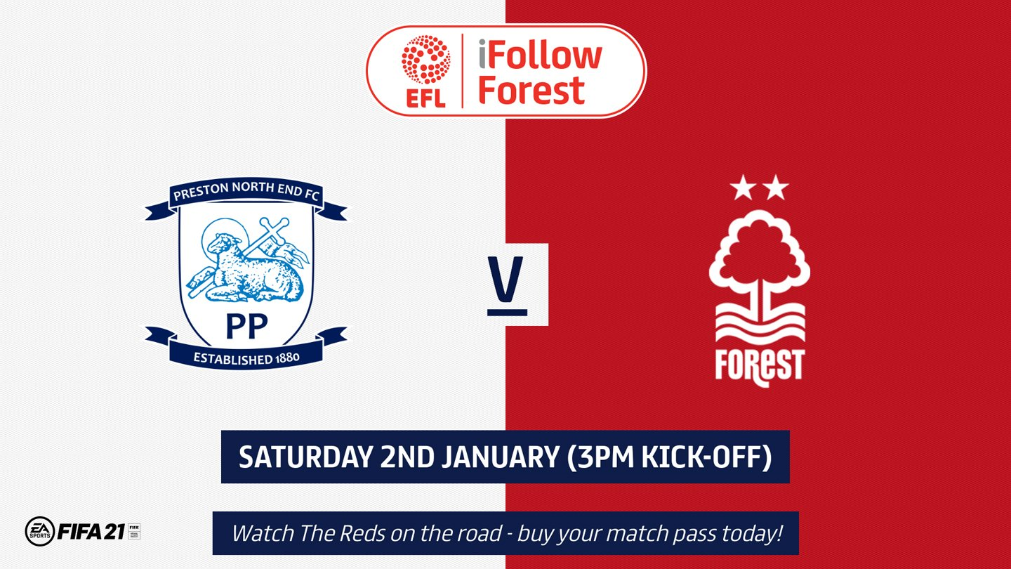 Watch Preston vs Forest live on iFollow!