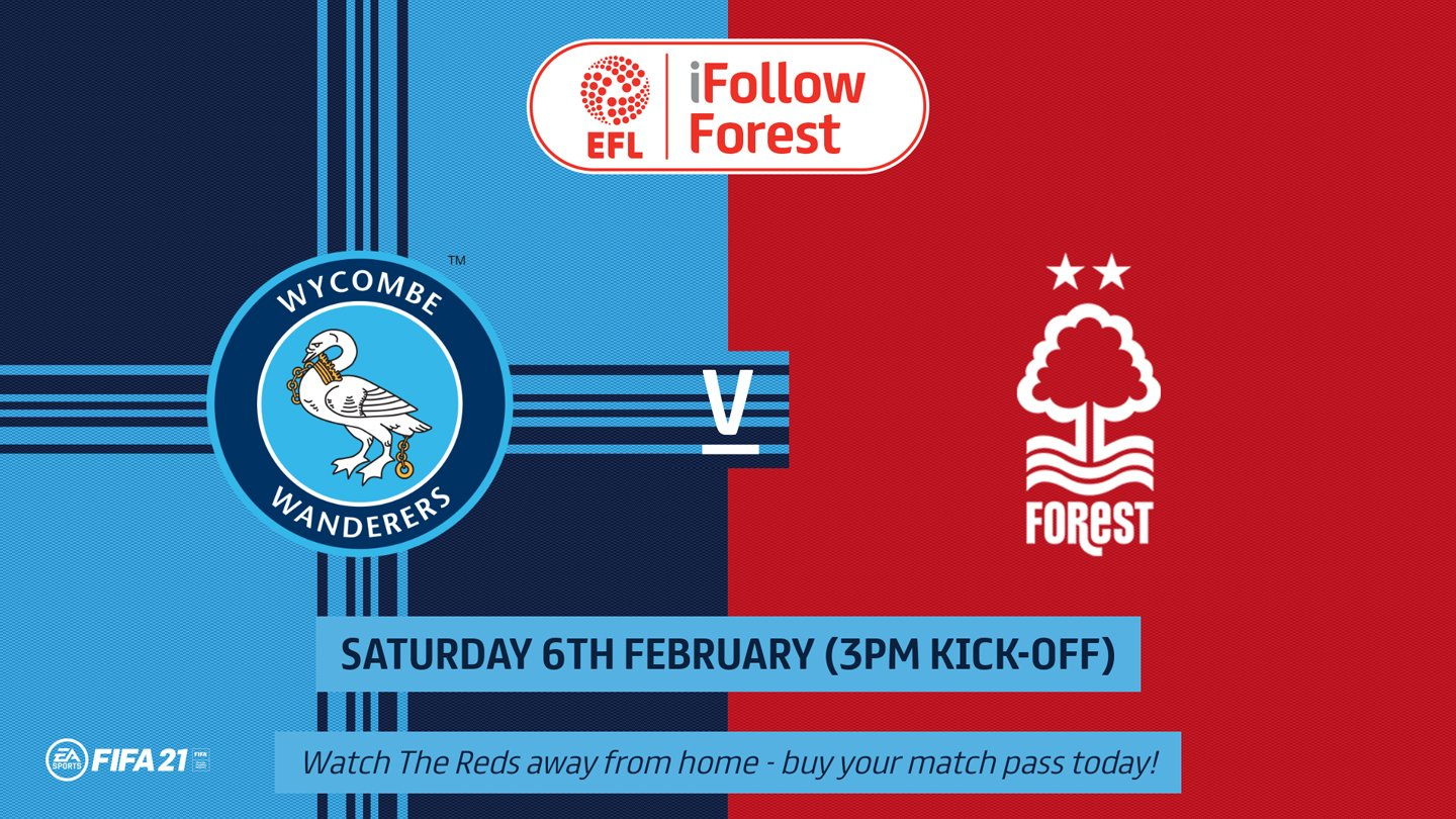 Watch Wycombe vs Forest live on iFollow!