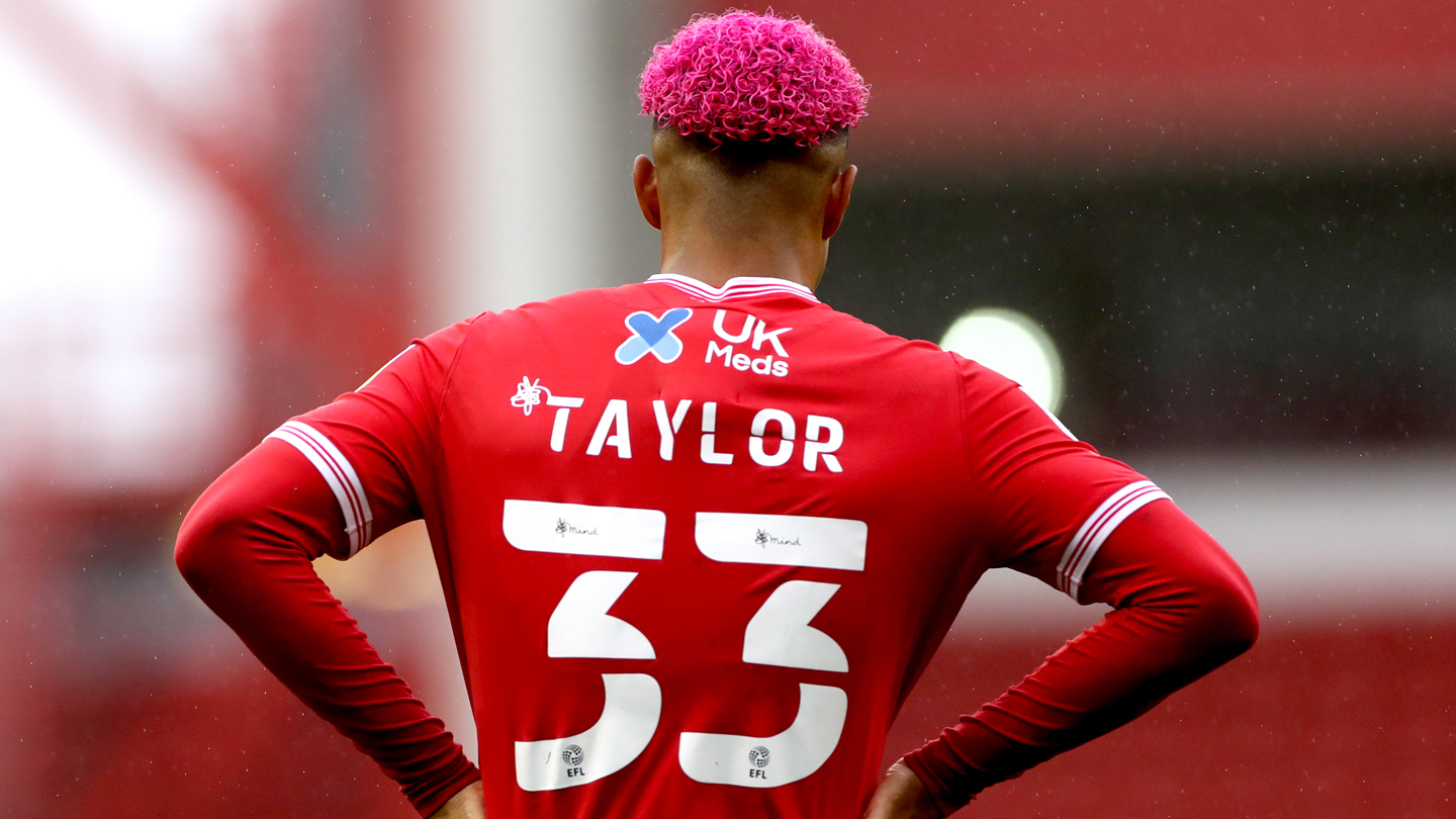 Free shirt printing on all replica shirts with 'TAYLOR 33'