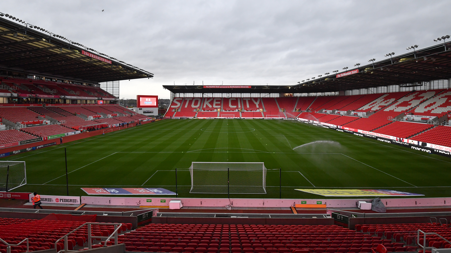 Stoke trip selected for TV coverage
