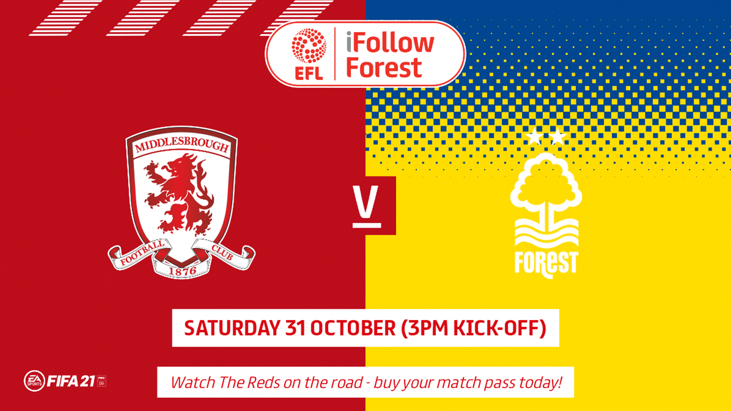 Watch Middlesbrough vs Forest live on iFollow!