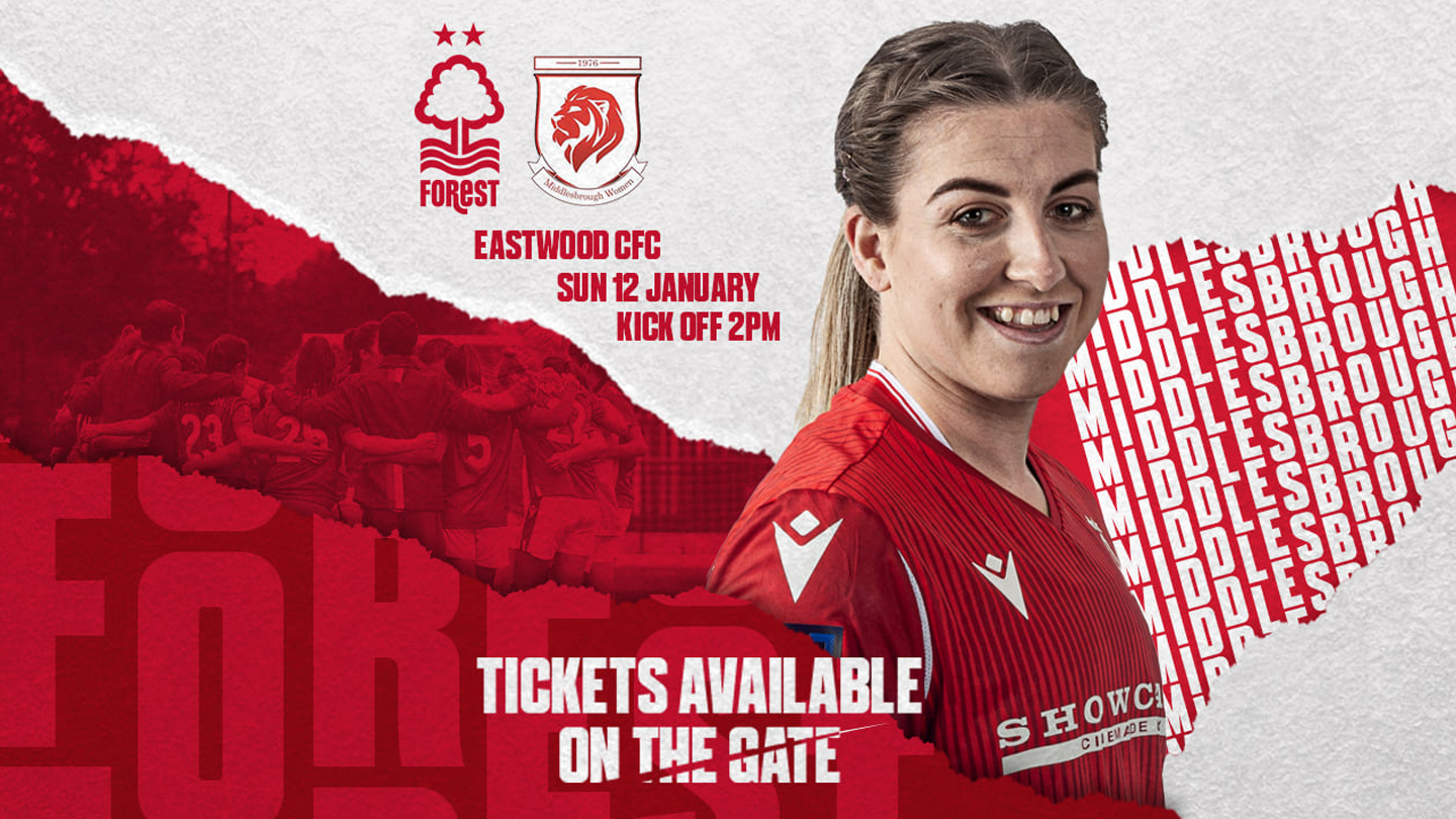 Show your support for Forest Women on Sunday!