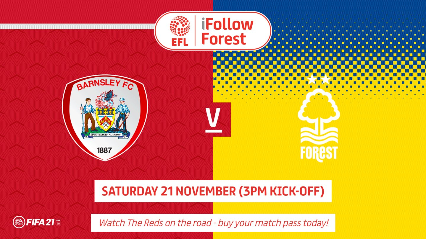 Watch Barnsley vs Forest live on iFollow!