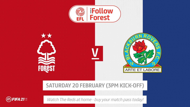 Watch Forest vs Blackburn live on iFollow!