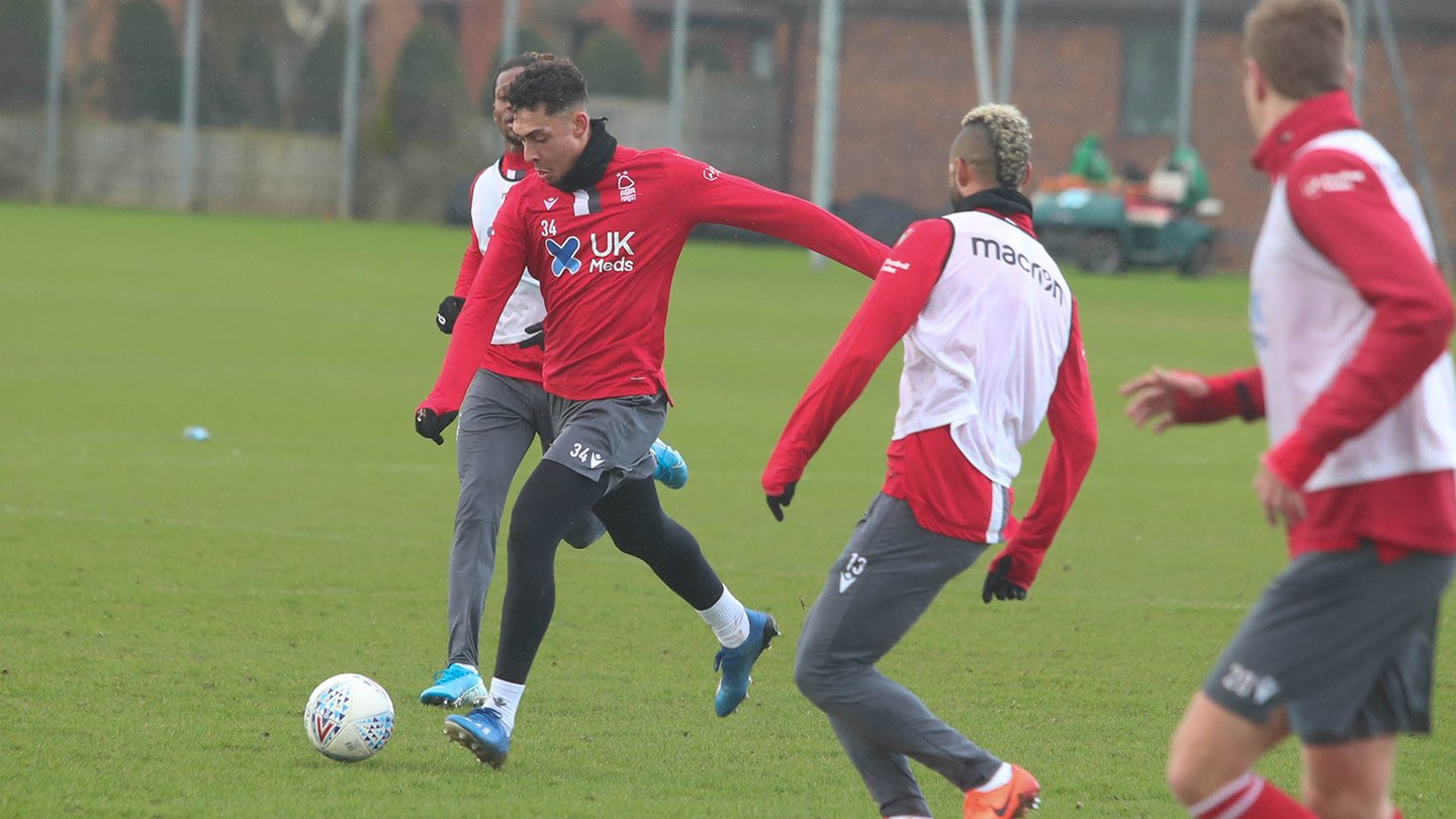 Reds in training ahead of QPR