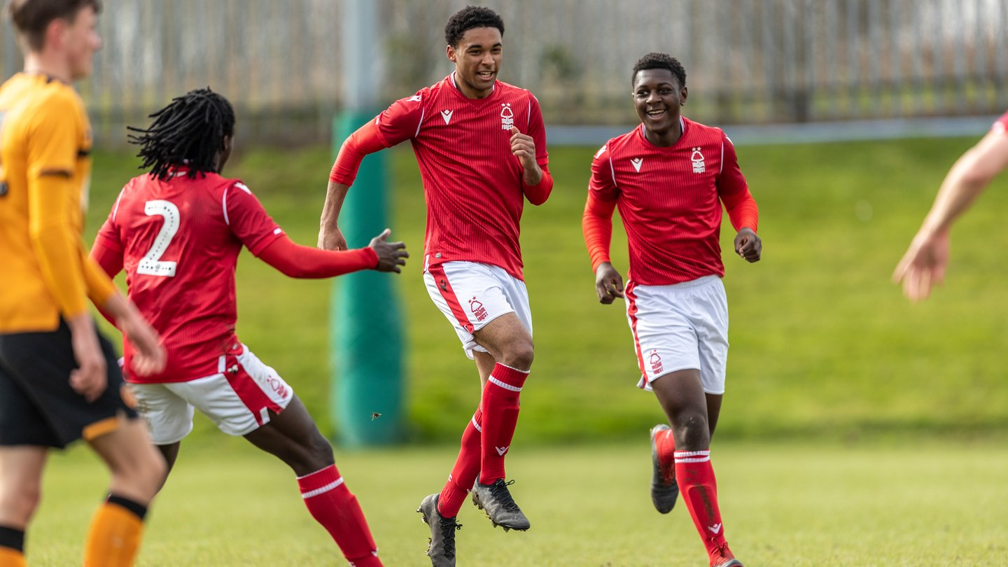 Under 18s: Forest 3-0 Hull