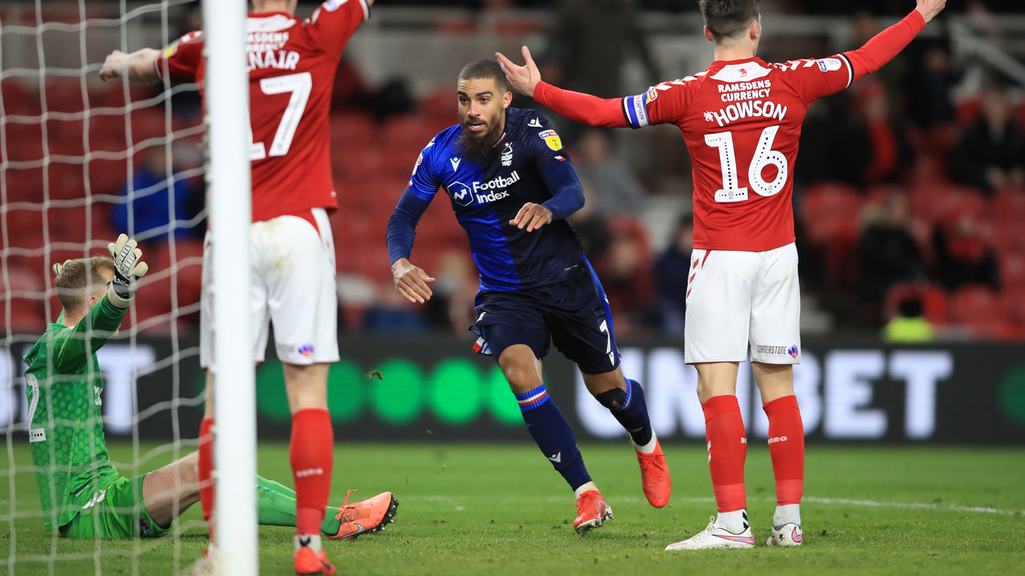 Middlesbrough 2-2 Forest