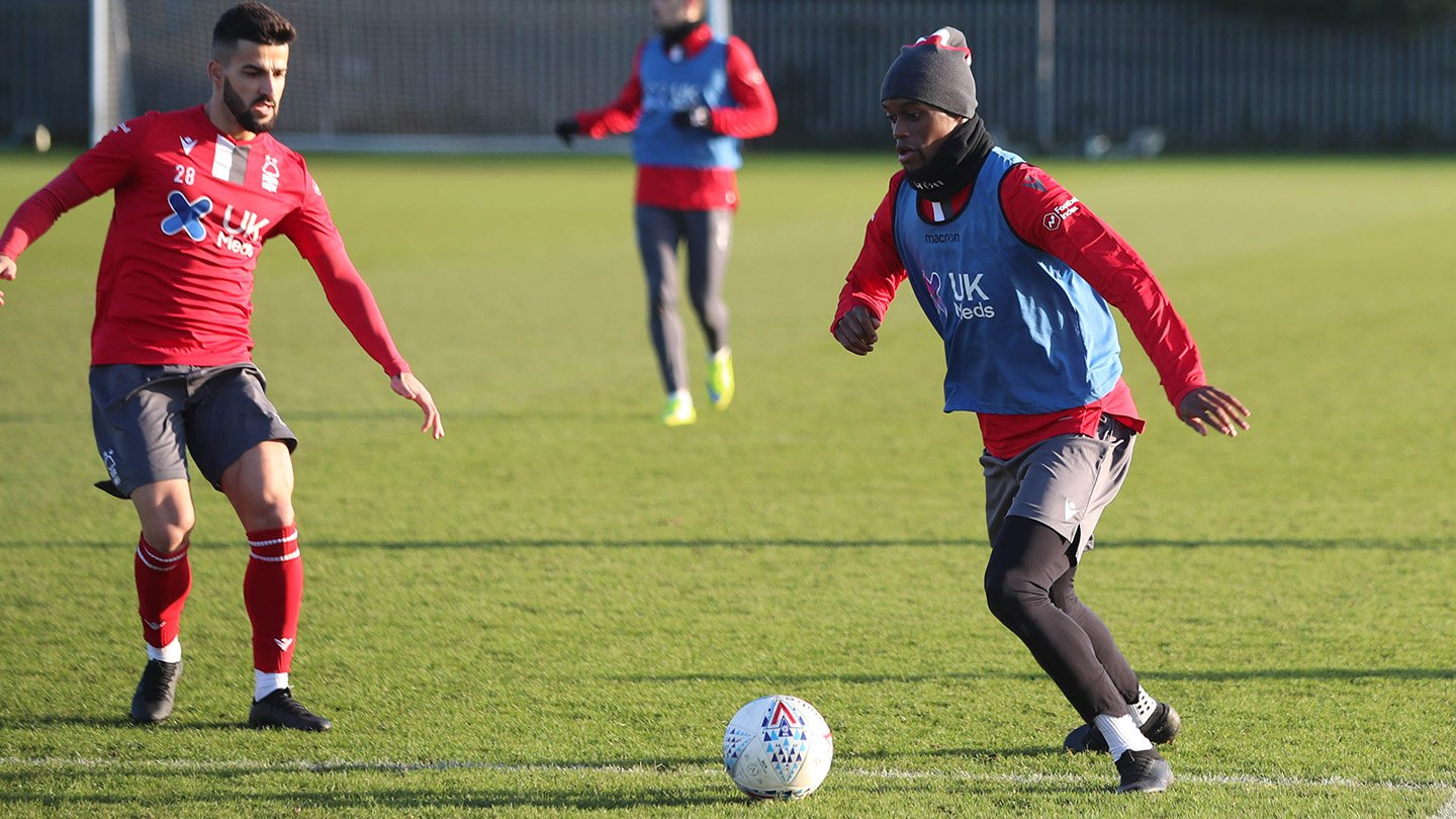 Diakhaby trains with The Reds