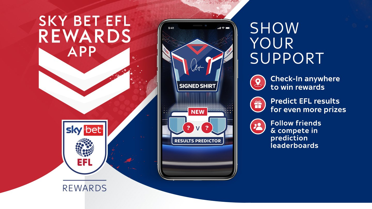 Matchday prizes, predictions and more - Sky Bet EFL Rewards is back!