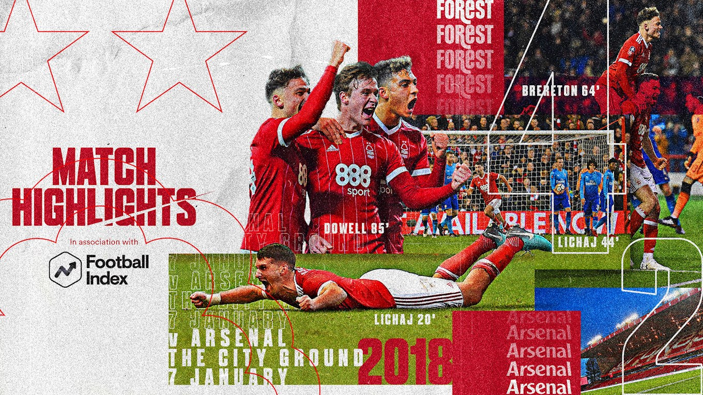 Forest Rewind in association with Football Index - Reds gun down Gunners