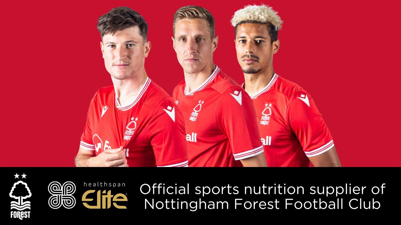 Nottingham Forest extend Healthspan partnership