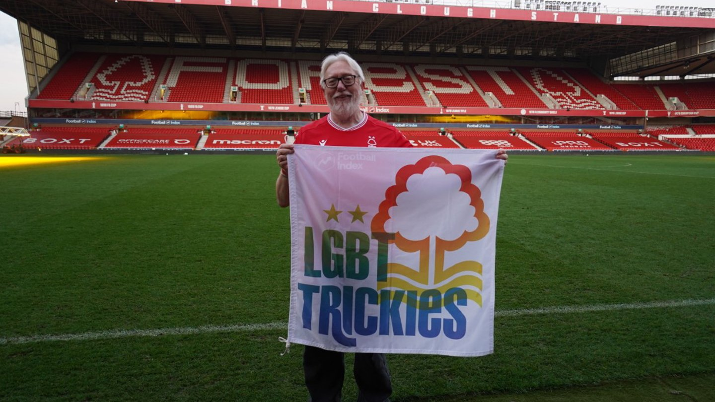 Forest and LGBT+ Trickies support Rainbow Laces campaign