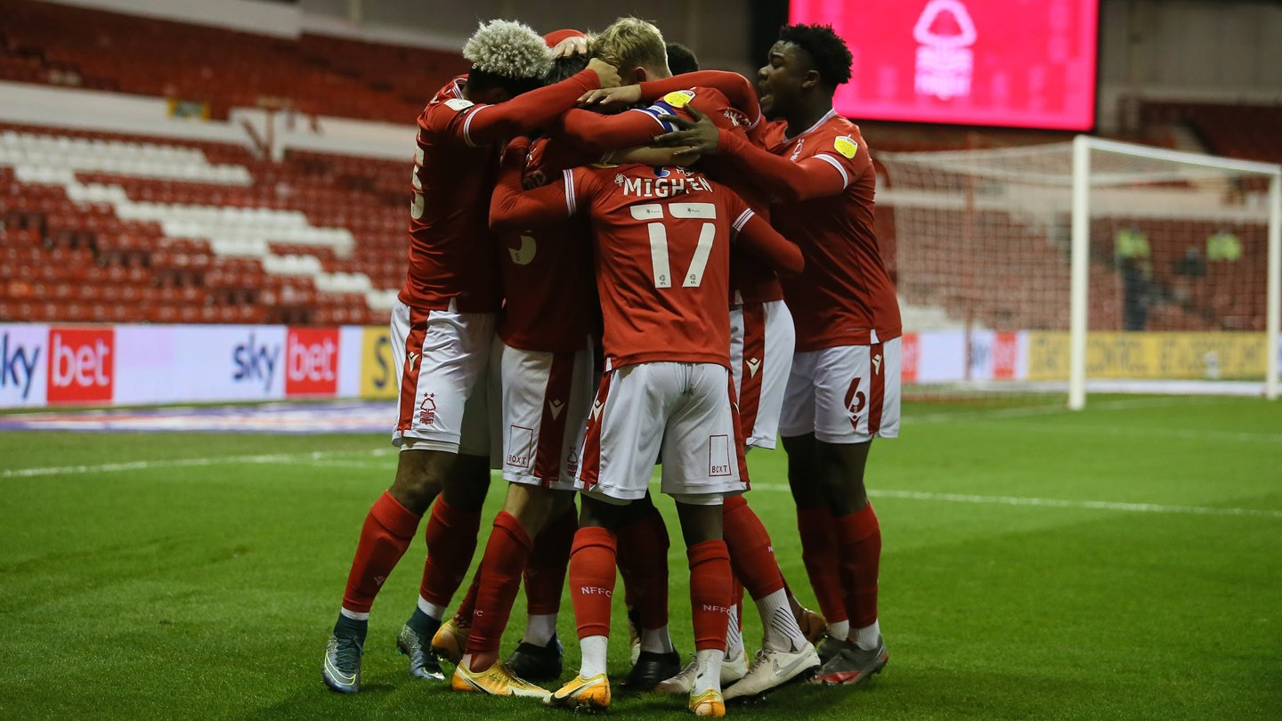 Forest launch online half-time draw