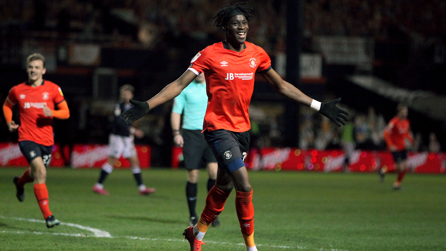 From the visitors' camp: Luton