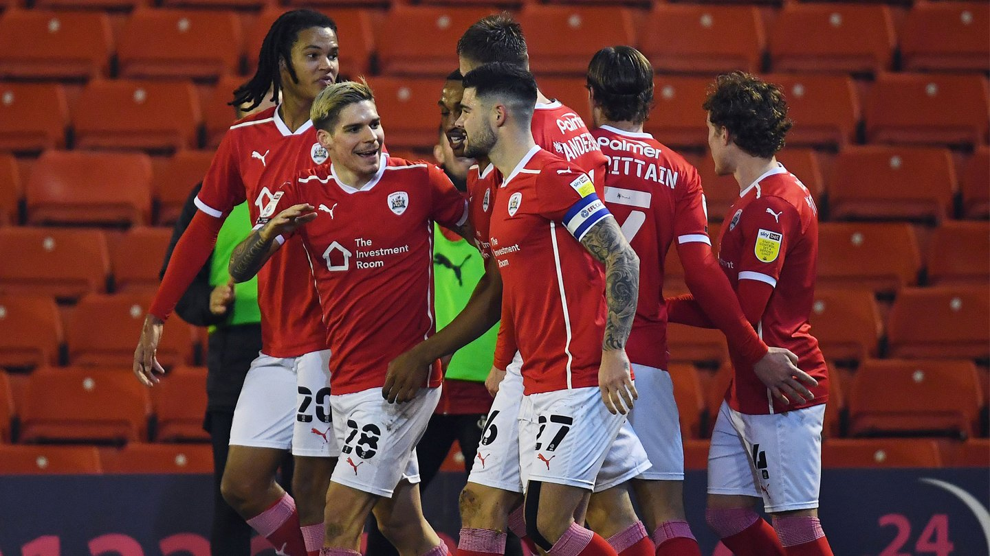 From the visitors' camp: Barnsley