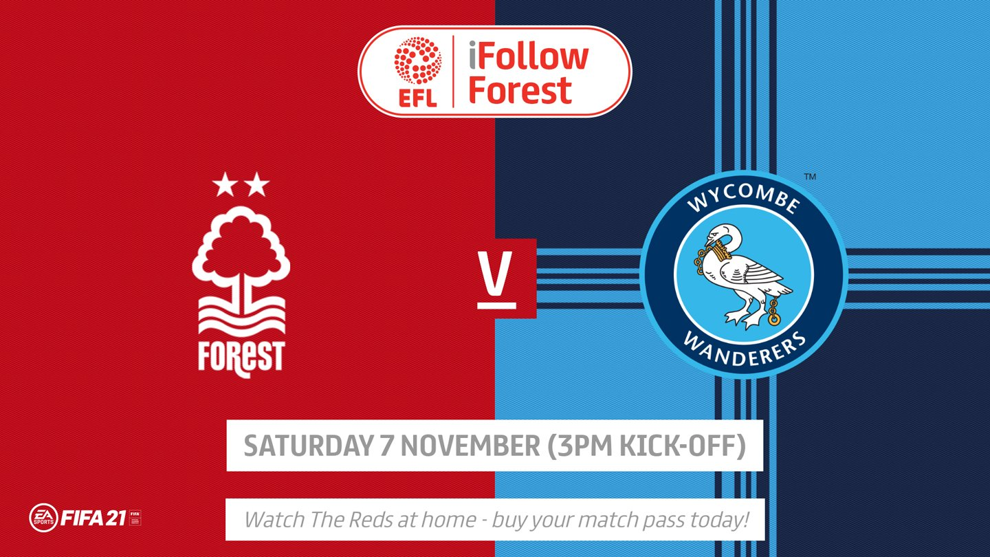 Watch Forest vs Wycombe live on iFollow!
