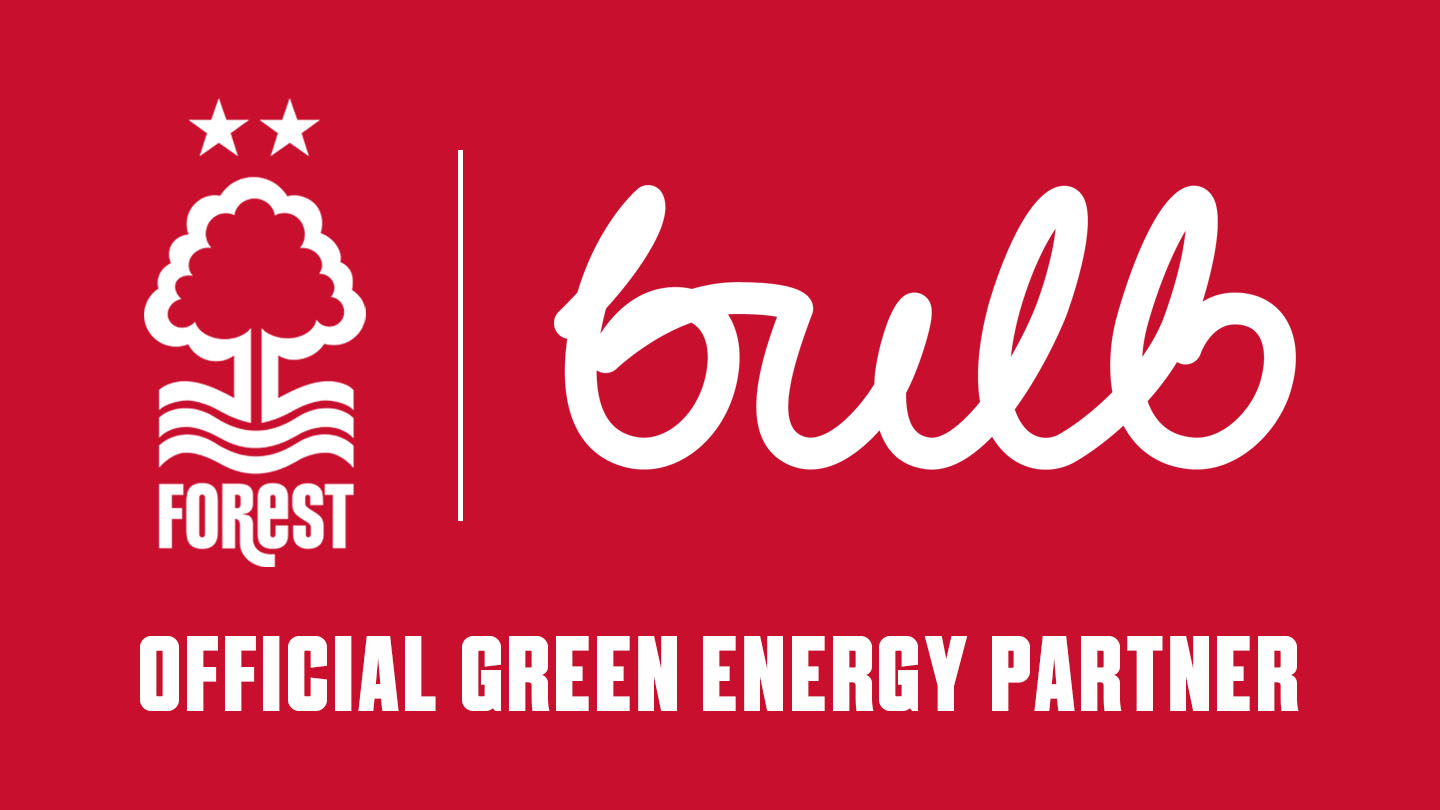 Nottingham Forest and Bulb team up on green goals