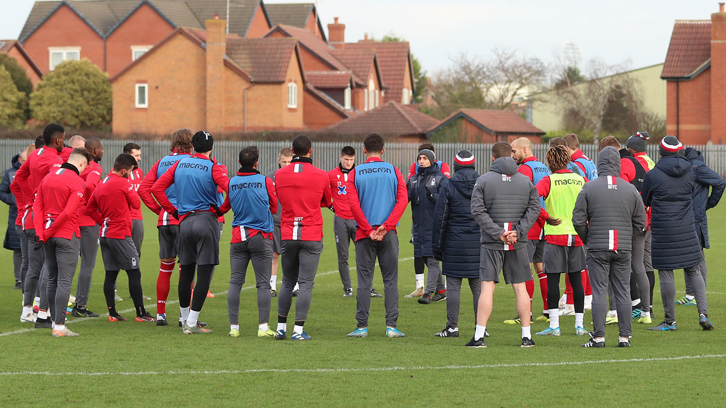 Reds get back to action in training