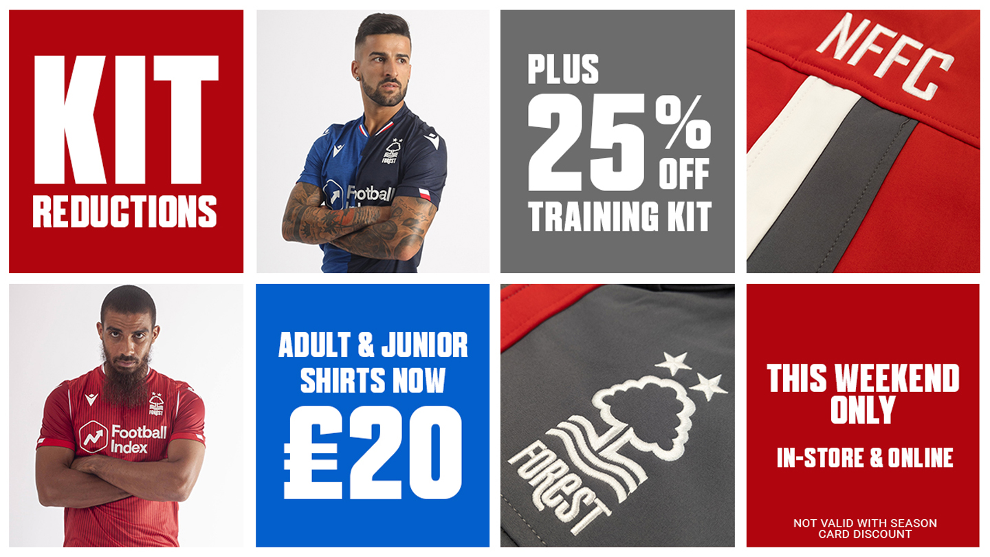 Great offers in the club shop this weekend!
