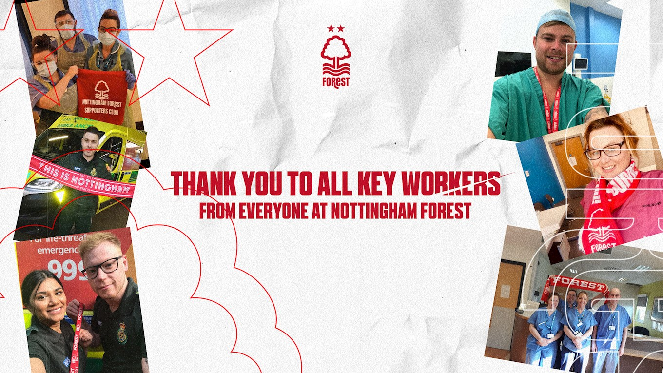 Thank you to all of our key workers!