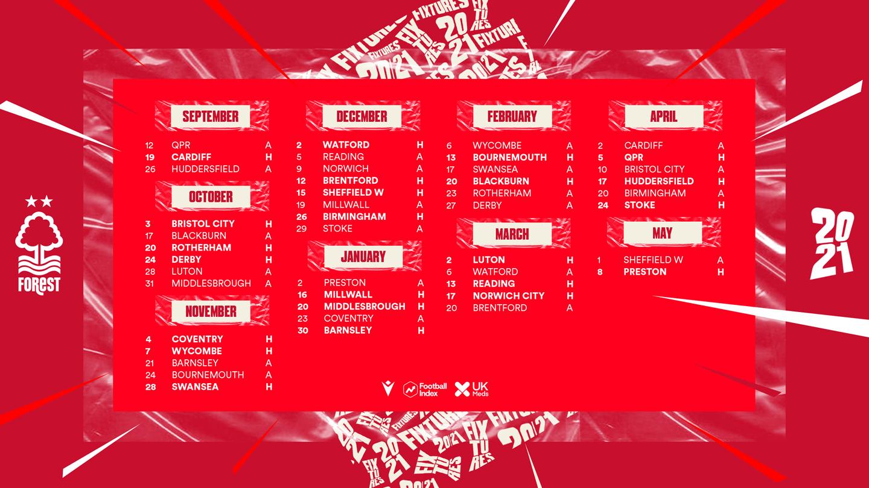 2020-21 Sky Bet Championship fixtures revealed