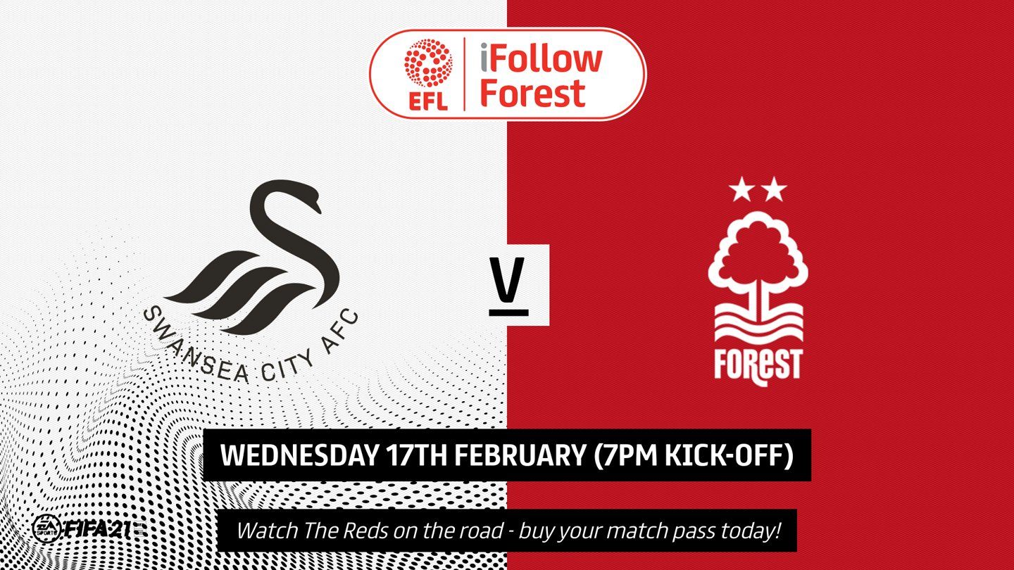 Watch Swansea vs Forest live on iFollow!
