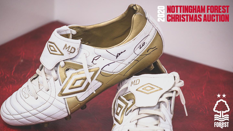 Nottingham Forest Christmas auction