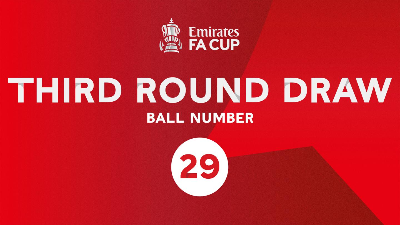 Emirates FA Cup third-round draw tonight