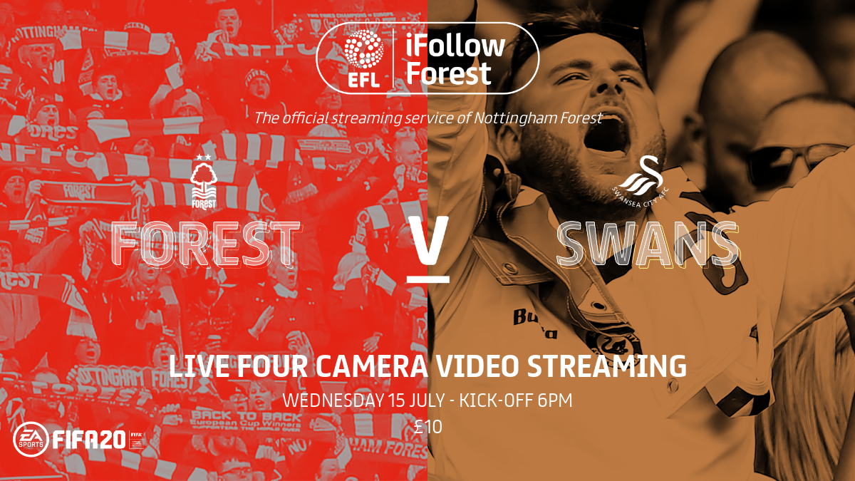 Watch Forest vs Swansea live on iFollow Forest!