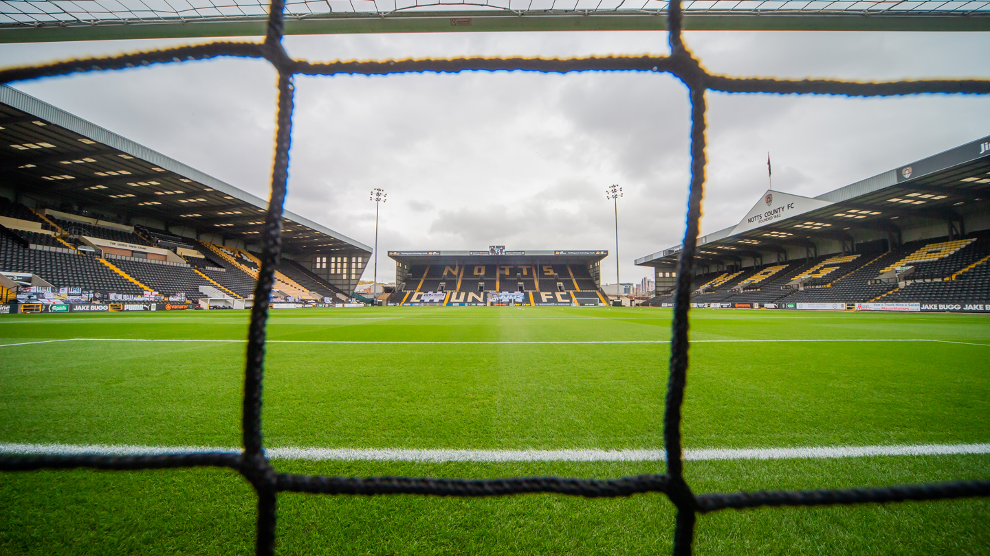 Meadow Lane to host selected Under 23s matches